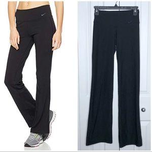 NIKE Black Classic Fit Training Pants XS
